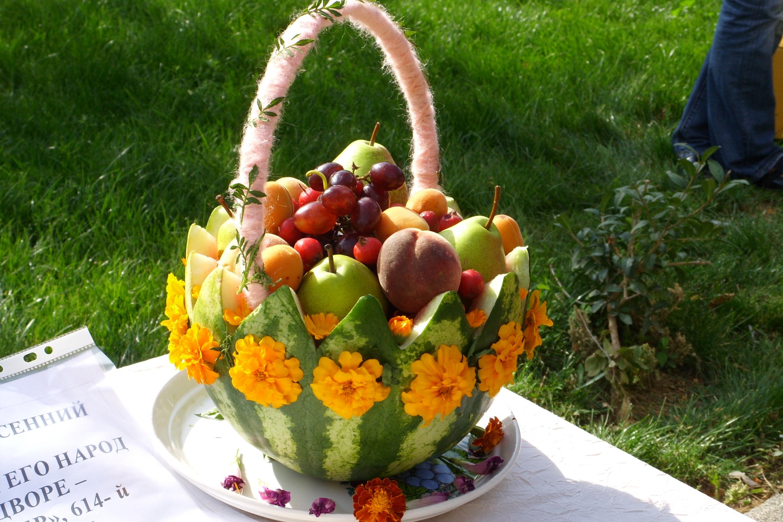 Поделка на тему дары осени в садик