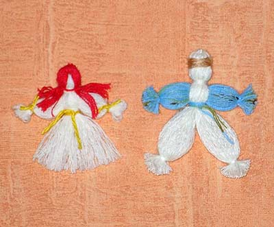 Поделки из ткани и ниток своими руками для детей