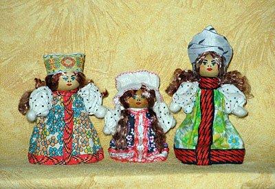 Деревянные куколки