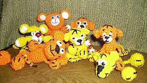 Тигриная семейка