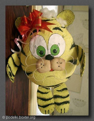 Тигрёнок с бантиком