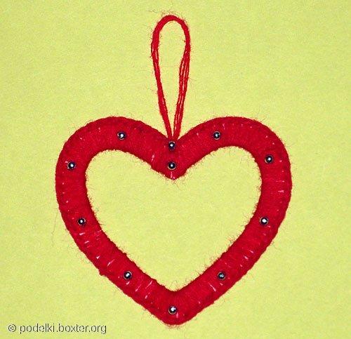 Сердечко рамочка