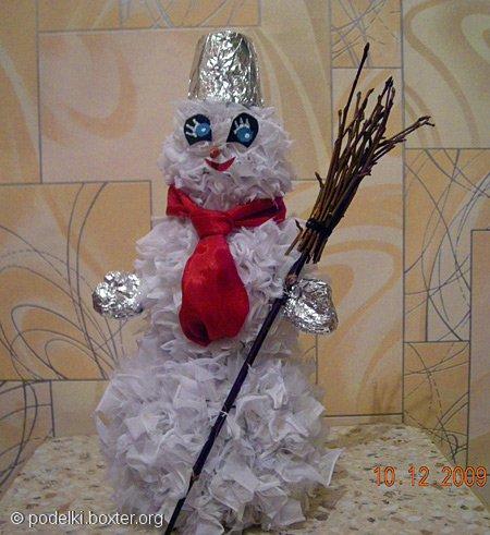 Снеговик и Совенок
