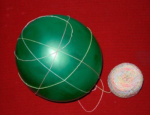 Ажурный шарик