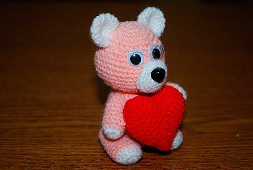 Сердечный мишка