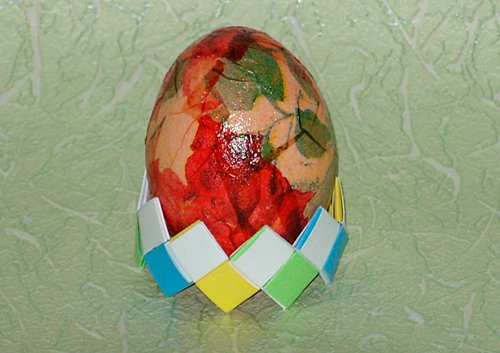 Яйцо декупажное
